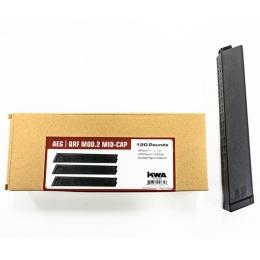 KWA 120rd QRF MOD.2 Mid Capacity AEG Magazines [3 Pack] - BLACK