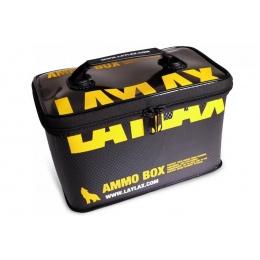 LayLax Medium Size Ammo Box (Color: Black / Yellow)