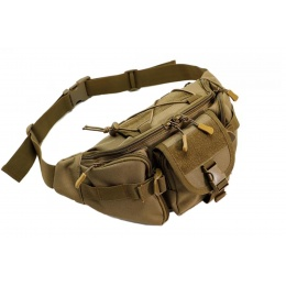Laylax Military Waist Bag (Color: Tan)