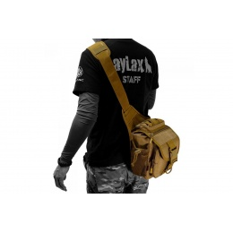 Laylax Military One-Shoulder Bag (Color: Black)