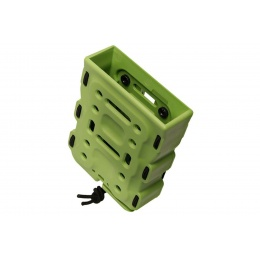 Laylax M4/M16 Hard Shell Bite Quick Magazine Holder (Color: ZSRT Green)