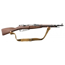 BO Manufacture WWII Mosin-Nagant M44 Airsoft Bolt Action Rifle - FAUX WOOD
