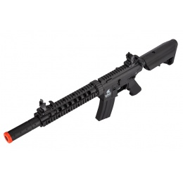 Lancer Tactical Nylon Polymer M4 Gen 2 SD AEG Airsoft Rifle [LOW FPS] - BLACK