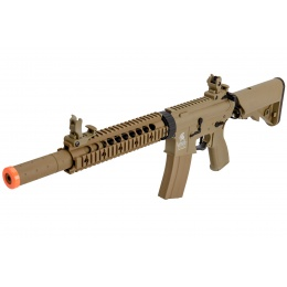 Lancer Tactical LT-15CT-G2-E Nylon Polymer Hybrid M4 Gen 2 SD AEG (Tan)