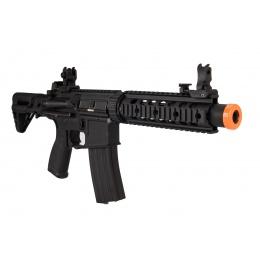 Lancer Tactical LT-15SBDL-G2 Gen 2 AEG Rifle w/ PDW Stock and Short Silencer (Black)
