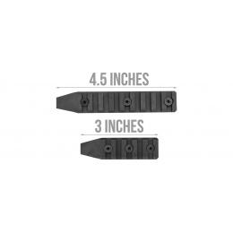 Lancer Tactical Keymod Rail Panels for LT-19 M4 Carbine, 3 pcs