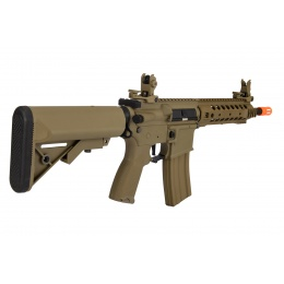 Lancer Tactical LT-24TA8-G2-E Hybrid M4 Carbine AEG Airsoft Rifle (Tan)