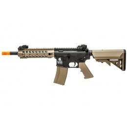 Lancer Tactical Gen 2 M4 CQB AEG Rifle (Color: Black / Tan)