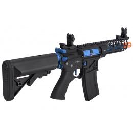 Lancer Tactical LT-29BACNL-G2-ME Enforcer Skeleton (Black and Navy Blue)