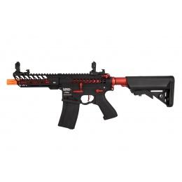 Lancer Tactical LT-29BACRL-G2-ME Enforcer Skeleton AEG (Black and Red)