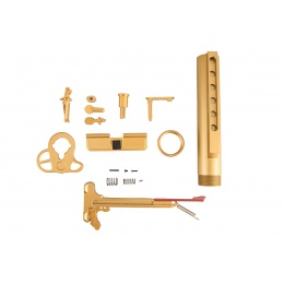 Lancer Tactical Gold Dress Up Kit for M4