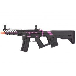 Lancer Tactical Enforcer NEEDLETAIL Skeleton AEG [HIGH FPS] - BLACK/PURPLE