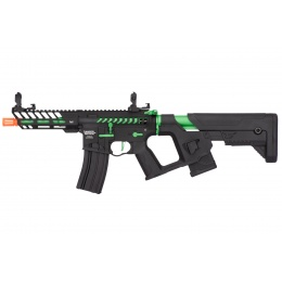 Lancer Tactical Enforcer NEEDLETAIL Skeleton AEG [HIGH FPS] - BLACK/GREEN