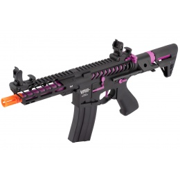 Lancer Tactical ProLine NEEDLETAIL PDW Skeleton AEG [HIGH FPS] - BLACK/PURPLE