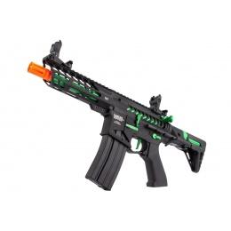 Lancer Tactical ProLine NEEDLETAIL PDW Skeleton AEG [HIGH FPS] - BLACK/GREEN