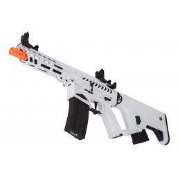 Lancer Tactical Enforcer NEEDLETAIL Skeleton AEG w/ Alpha Stock (White/Black)