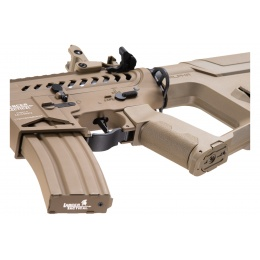 Lancer Tactical Enforcer Blackbird Skeleton AEG w/ Alpha Stock (Color: Tan)