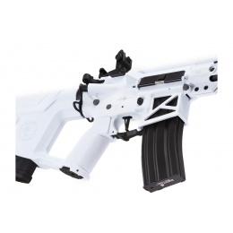 Lancer Tactical Enforcer Blackbird Skeleton AEG w/ Alpha Stock (Color: White)