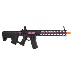 Lancer Tactical Enforcer Night Wing AEG [High FPS] w/ Alpha Stock (Black / Purple)
