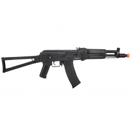 Lancer Tactical AK-Series AKS-105 AEG Airsoft Rifle w/ Skeleton Foldable Stock (Black)