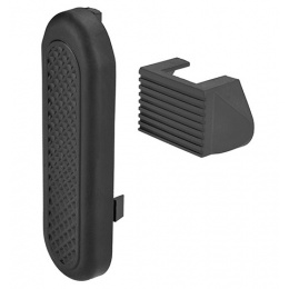 Lancer Tactical M4 Crane Stock Butt Plate Set - BLACK