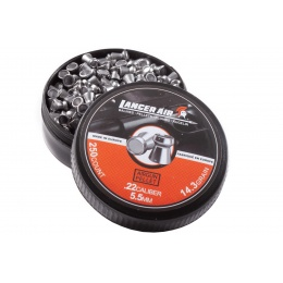 Lancer Tactical 250 Count .22 Caliber 14.3 Gram Air Gun Pellets (5.5mm Hollowpoint)