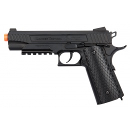 Lancer Tactical Cobra LTX-50 1911 CO2 Blowback Airsoft Pistol - BLACK