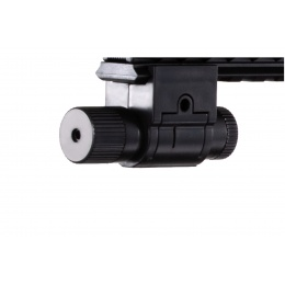 UK Arms M-16A Spring Powered Rifle with 2 Magazines and 2 Stocks (Color: Black)