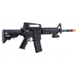 UK Arms M-16B Spring Operated Rifle with Laser Sight (Color: Black)