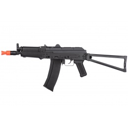 WellFire AK74U Gas Blowback GBB Airsoft Rifle - BLACK