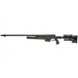 WellFire MBG86B Bolt Action Gas Powered Sniper Rifle (Color: Black)