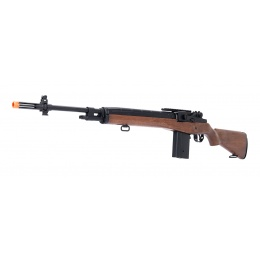 AGM M14 SOCOM Airsoft DMR AEG Rifle w/ Battery and Charger - FAUX WOOD