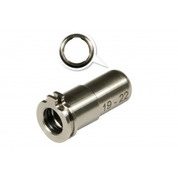 Maxx Model CNC Titanium Adjustable Air Seal Nozzle for Airsoft AEG
