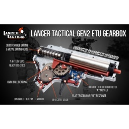 Lancer Tactical LT-25 Hybrid Gen 2 M4 SPR