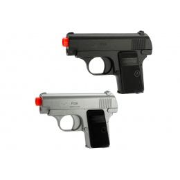 M222 Spring Airsoft Pistols - BLACK & SILVER