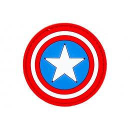 Captain America Shield PVC Morale Patch