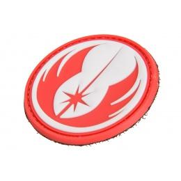 Jedi Order Symbol PVC Morale Patch (Red)