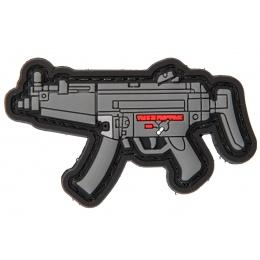 PVC Morale Patch MP5 (Color: Grey)