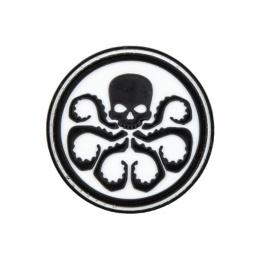 Hydra Logo PVC Morale Patch (Color: Black / White)