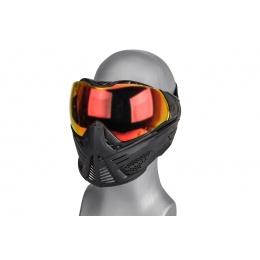 Push Paintball Unite Mask (Red Lens)