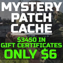 Airsoft Megastore Mystery Patch Cache 2019