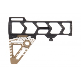 Ranger Armory Aluminum Patriot Stock (Gold/Black)