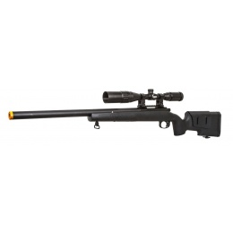 Classic Army SR40 Bolt Action Spring Airsoft Sniper Rifle - BLACK