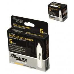 Sig Sauer 12g CO2 Cartridges for Air Guns / Airsoft