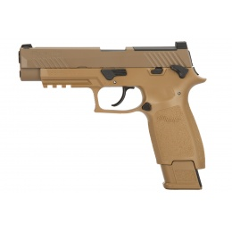 Sig Sauer P320-M17 CO2 GBB Air Pistol (Coyote Tan)