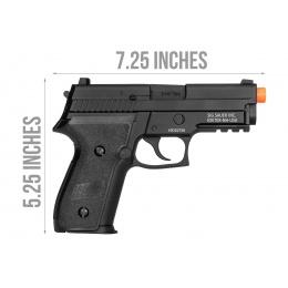 Sig Sauer PROFORCE P229 Gas Blowback Airsoft Pistol - BLACK