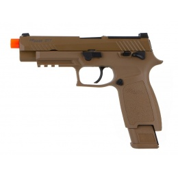Sig Sauer PROFORCE M17 Gas Blowback Airsoft Training Pistol - COYOTE