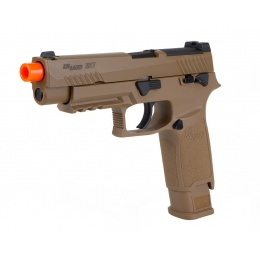 Sig Sauer PROFORCE M17 Gas/CO2 Blowback Airsoft Training Pistol - COYOTE