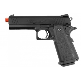 Tokyo Marui 4.3 Tactical Custom Hi-Capa GBB Airsoft Pistol - BLACK