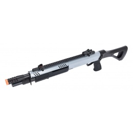 Bo Manufacture FABARM STF/12 Short Barrel Shotgun w/ Fixed Stock  - GRAY / BLACK